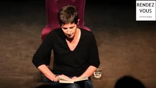"""Christine Angot - Lit """"Ecrire"""" de Marguerite Duras -"""
