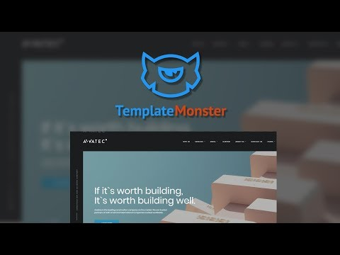 Stylish Construction Company Multipage HTML Website Template - Awatec #67774