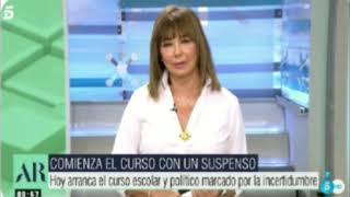 ⚡???? Ana Rosa ha vuelto DESTROZANDO al GOBIERNO de PEDRO SÁNCHEZ por sus mentiras e incompetencia.