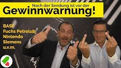BASF, Fuchs Petrolub, Nintendo, Siemens uvm.   Feedback Juli   echtgeld.tv (04.07.2019)