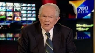 Repeat youtube video Pat Robertson: Creationism Is False, But Bible Is True