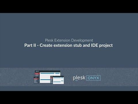 Create Plesk extension via command line