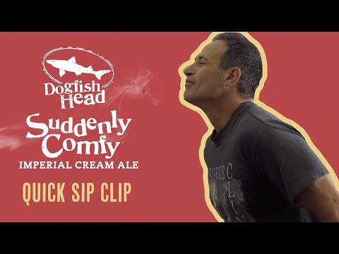 Dogfish Head Quick Sip Clip: Suddenly Comfy Imperial Cream Ale