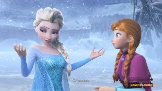 Kingdom Hearts 3 MOVIE | Disney's Frozen (HIGH FRAME RATE SERIES IN 4K)