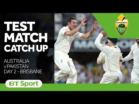 Test Match Catch Up   Australia v Pakistan  First Test  Day Two Highlights New Flash Game