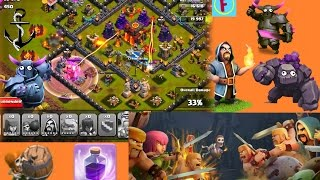 Clash of Clans - Th9 GoWiPe War attacks