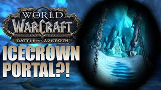 MORE EVIDENCE of a Lich King Return? Frozen Throne Portal + Patch 8.3.5 CONFIRMED!?