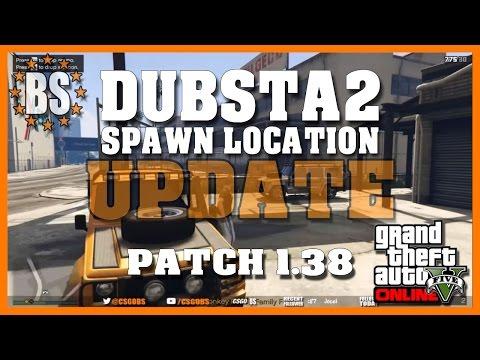 GTA 5 Online - Patch 1.38 Dubsta 2 Spawn Location Update 3/24/17