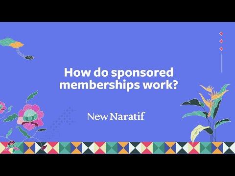 FAQ: How do Sponsored Memberships work? (Fundraising 2021)