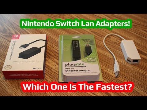 Nintendo Switch Lan Adapters! Which One Should You Buy?