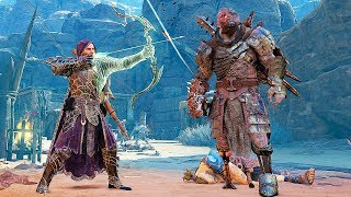 SHADOW OF WAR - UNIQUE BLOOD LICKER OVERLORD DIFFICULTY NEMESIS IN DESERT