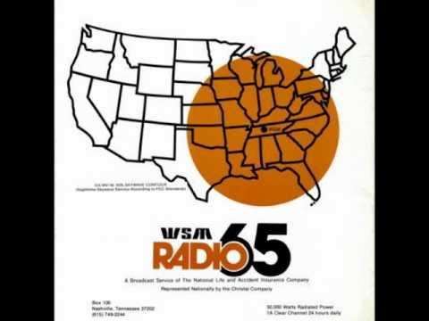 Pat Sajak on Radio 65 WSM/Nashville, TN 1975