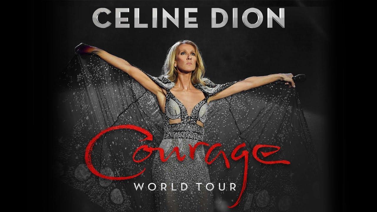 Celine Dion Courage World Tour 2019 2020 Youtube