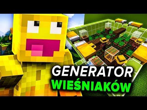 Minecraft 1.14: AUTOMATYCZNA FARMA WIEŚNIAKÓW (PORADNIK)