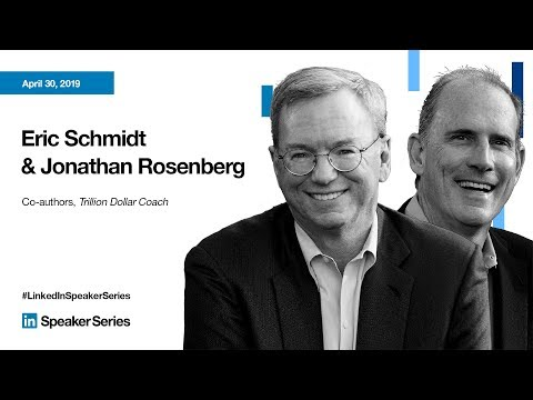 LinkedIn Speaker Series: Reid Hoffman, Eric Schmidt and Jonathan Rosenberg Mp3