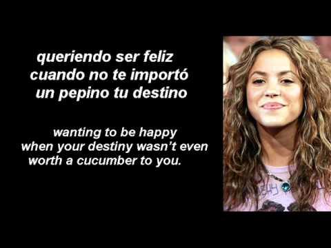 Pies descalzos-Shakira-Spanish (subs-Spanish-English-espanol-ingles)