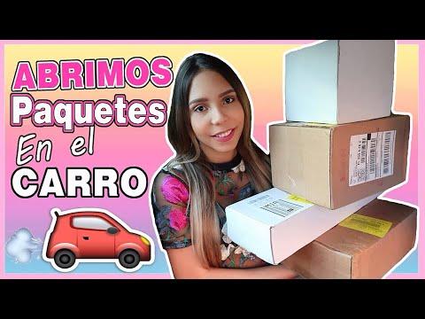 ABRIMOS PAQUETES EN EL CARRO: PRETTY RICH TOO FACED, LANCOME, PUR X THE GRINCH...♡│Mirianny - 동영상