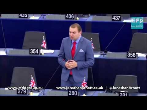 European Political Parties exist only because we subsidise them - Jonathan Arnott MEP