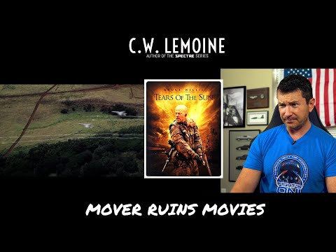 Former F/A-18 Pilot Breaks Down TEARS OF THE SUN Danger Close Scene | Mover Ruins Movies
