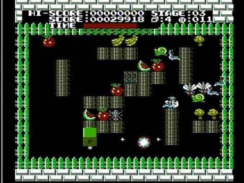 搖滾方塊 Dancing Block  (ファミコン) gameplay
