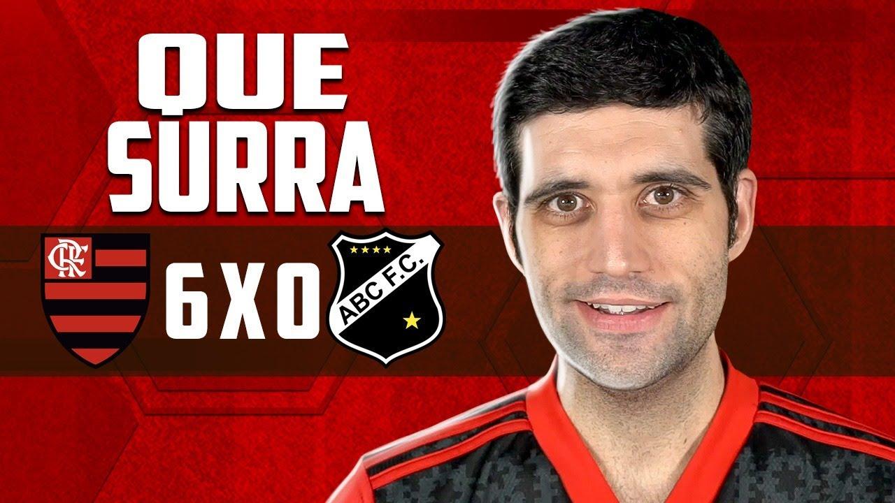Flamengo 6 x 0 ABC, Copa do Brasil - Meu Deus QUE SURRA