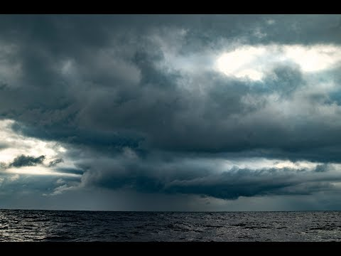 Meteorological Phenomenon And Lightning Storm Captured As Clipper Race Approached Uruguay