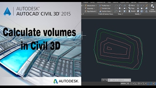 Autocad civil 3D Calculate surface volume