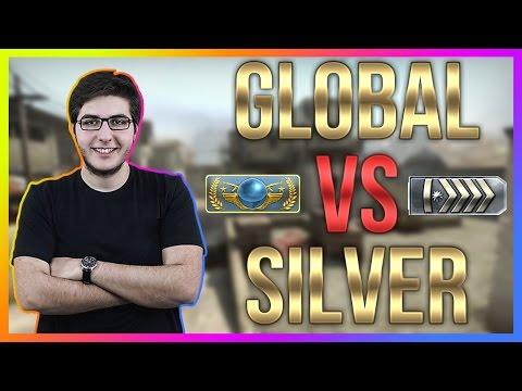GLOBAL VS SILVER - CS:GO Rekabetçi Türkçe #73