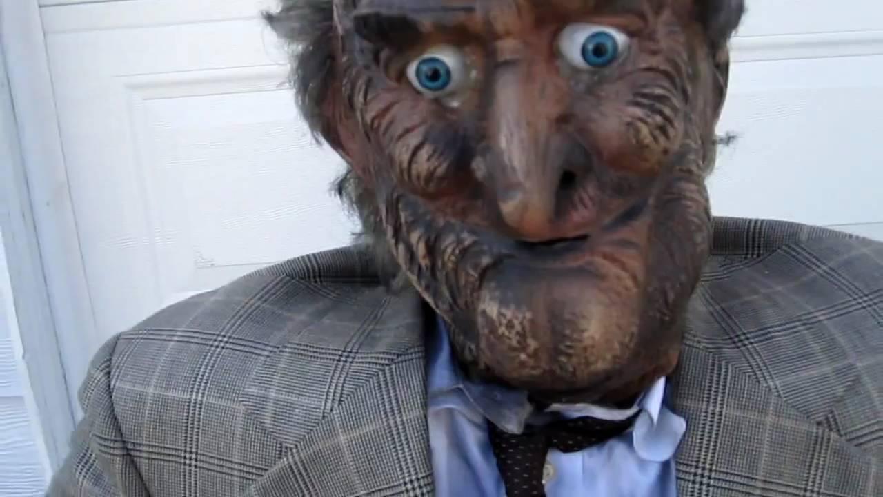 Old Sale >> Animatronic Old Man Walker Halloween Prop For Sale On Ebay Youtube