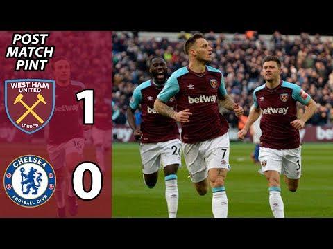 West Ham 1 Chelsea 0 | Post Match Pint