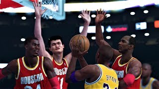 NBA 2K20 Roster Featuring - ALL-TIME HOUSTON VS ALL-TIME LAKERS - Simulation