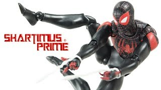 MAFEX Miles Morales Spider-Man Medicom Ultimate Marvel Comics 6 Inch Import Action Figure Review