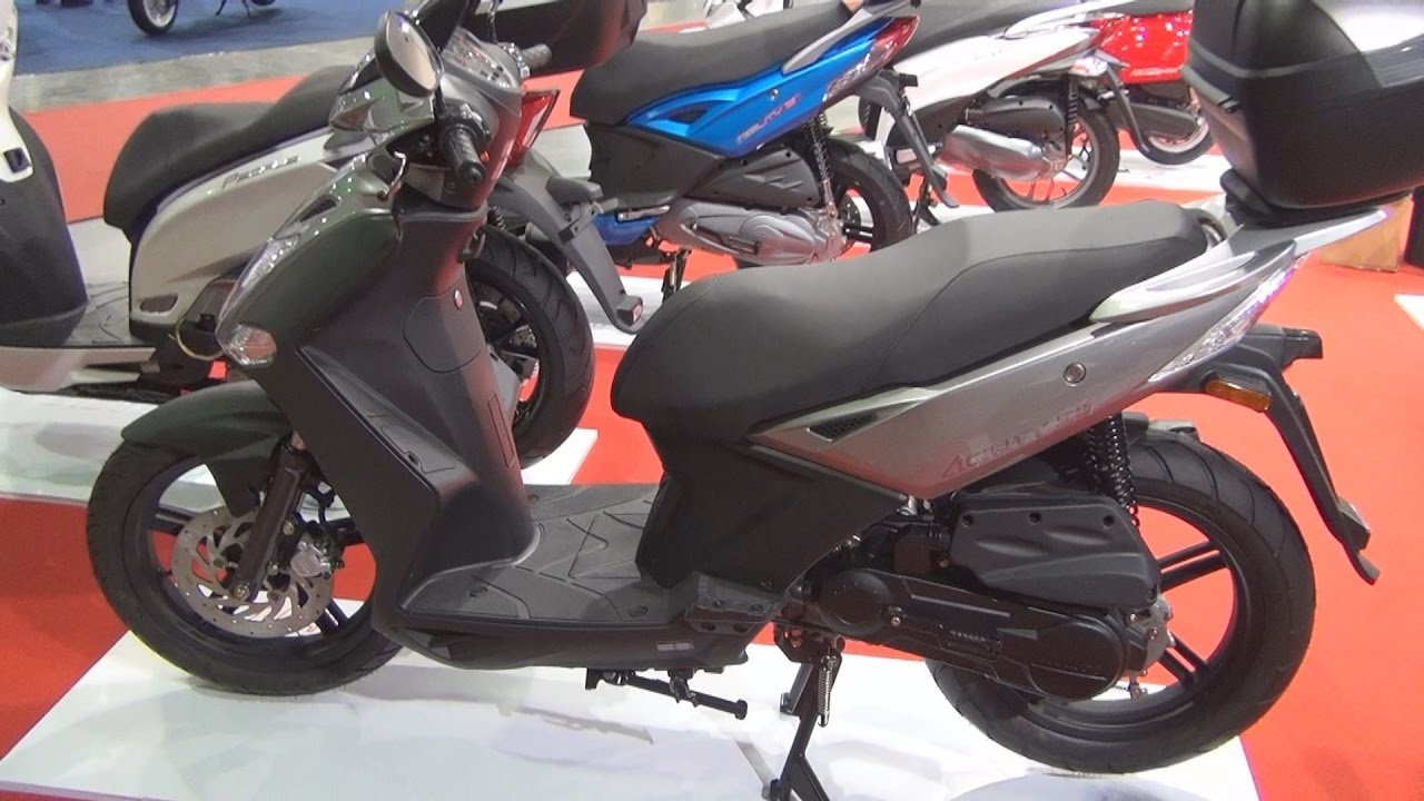 kymco agility city 50 exterior and interior - youtube