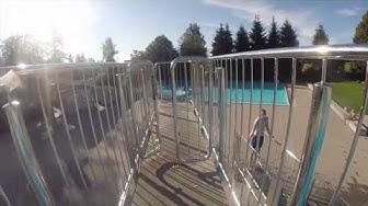 GoPro Action in der Badi