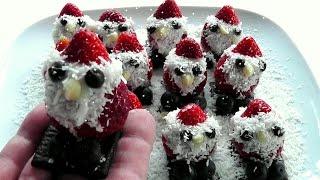 Peeping Santas How to make Christmas video recipe