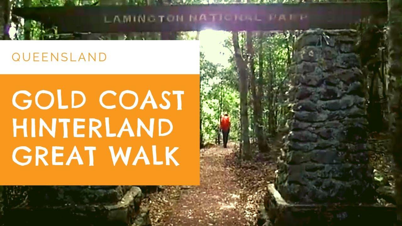 gold coast hinterland great walk day 1 youtube. Black Bedroom Furniture Sets. Home Design Ideas