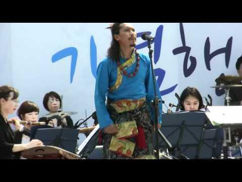 khap juk...Kharag penpa  An sun in seoul ..2011,5,15(일),  안산세계인의 날 식전공연