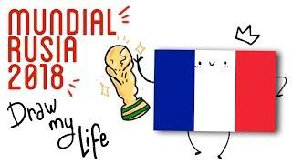 LA HISTORIA DEL MUNDIAL DE RUSIA 2018 EN DIBUJOS | Draw My Life