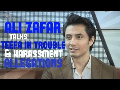 Ali Zafar Interview on Teefa & harassment allegations