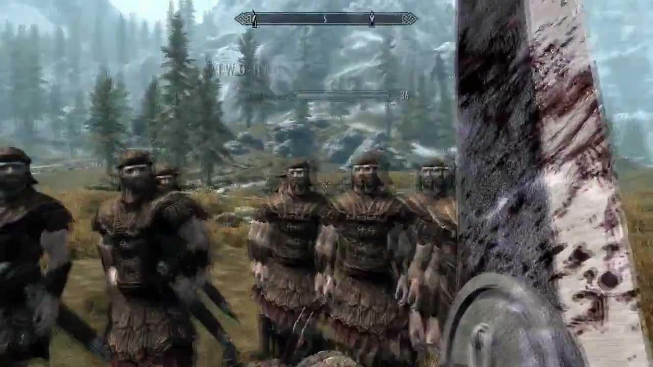 Skyrim Mod Spotlights - Berserk Dragonslayer, Flintlock Pistol, Frostmourne