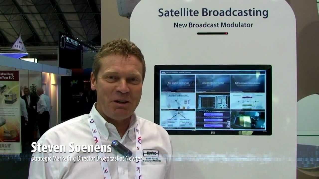 Short introduction Newtec M6100 Broadcast Satellite Modulator - IBC2012