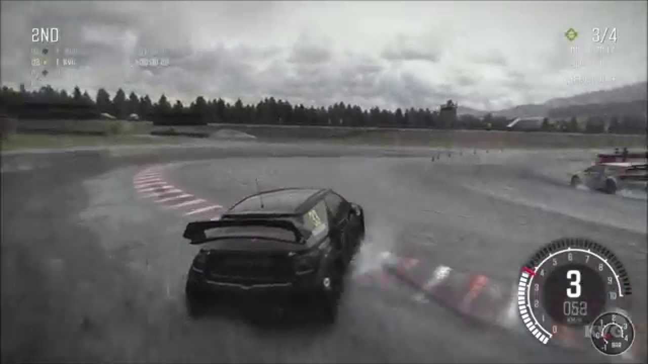 dirt rally rallycross norway gameplay pc hd. Black Bedroom Furniture Sets. Home Design Ideas