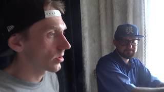 Спарцмен Варчун Крэк и Шаман снова вместе работают на одной студии и сводят новые песни (часть №8)