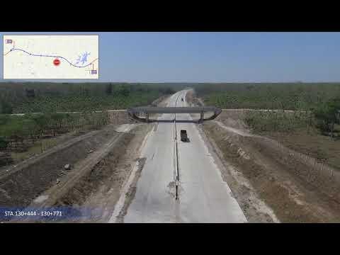 Video Udara Pembangunan Paket 3 Ruas Ngawi Kertosono
