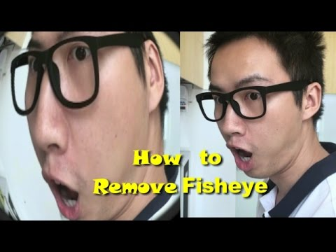 How To Remove Fisheye Effect From GoPro Photo Or Video