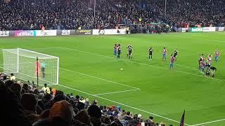 crystal palace 2 v 2  bournemouth benteke miss penalty