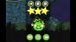 Bad Piggies 4-16 Flight in The Night level 16 Walkthrough 3 Stars one shot