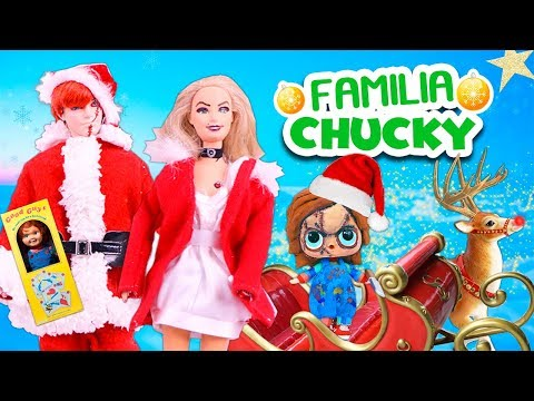 FAMILIA CHUCKY 🎁 se convierte en SANTA CLAUS 🎅🏻 y entregan REGALOS en NAVIDAD -Juguetes Fantástic