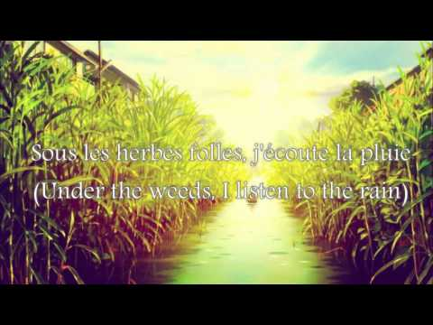 The Secret World of Arrietty - Arrietty's Song (French) Subtitles + Translation