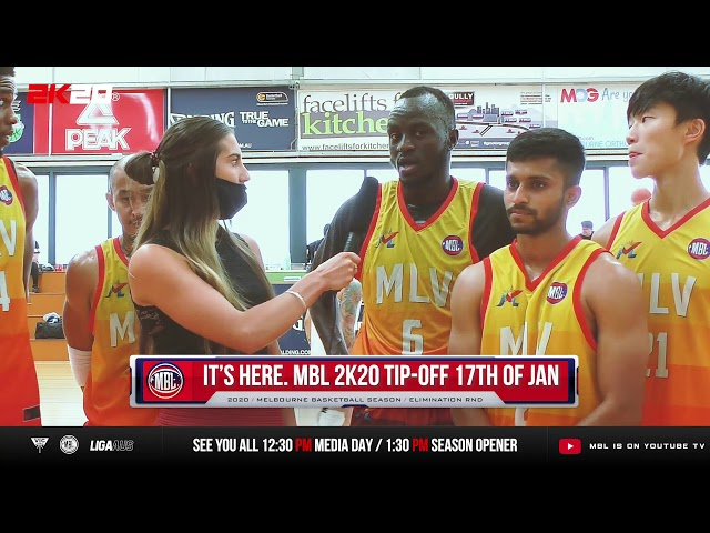 Interview: MLV Chargers MBL 2K20 Post-game Interview